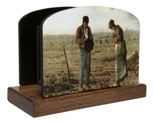 The Angelus by Millet Horizontal Table Organizer