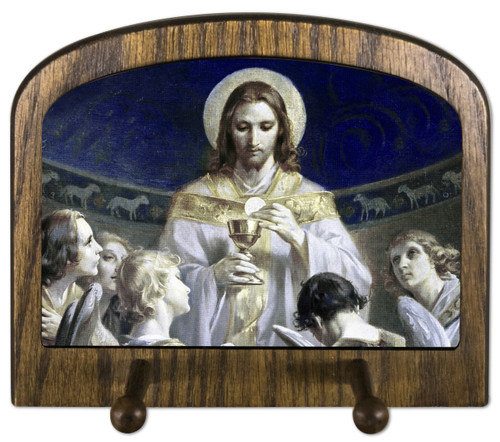 Christ, Bread of Angels Horizontal Peg Holder