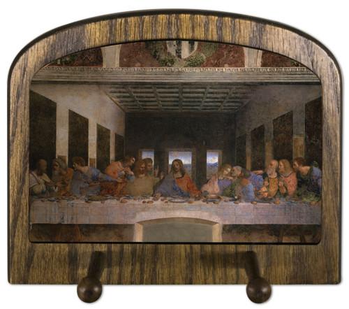 Last Supper by Da Vinci Horizontal Peg Holder