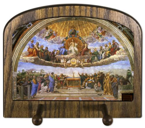 Disputation of the Holy Eucharist Horizontal Peg Holder