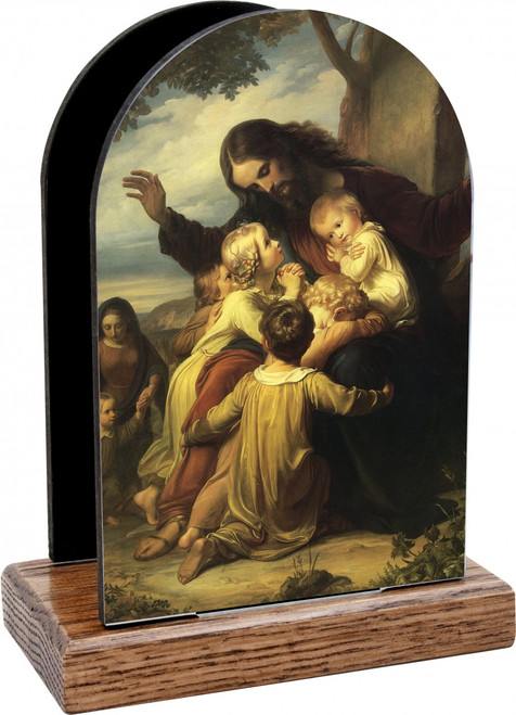 Jesus with the Children Table Organizer (Vertical)
