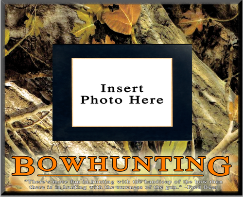 """Bowhunting"" Picture Frame"