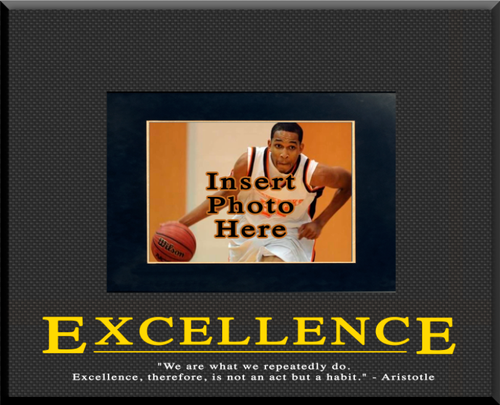 """Excellence"" Picture Frame"