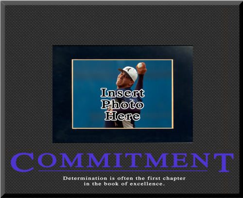 """Commitment"" Picture Frame"