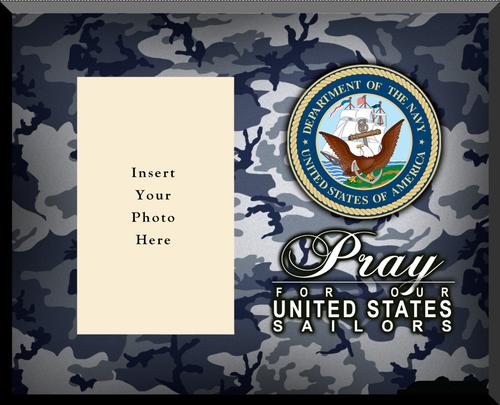 Navy Photo Frame
