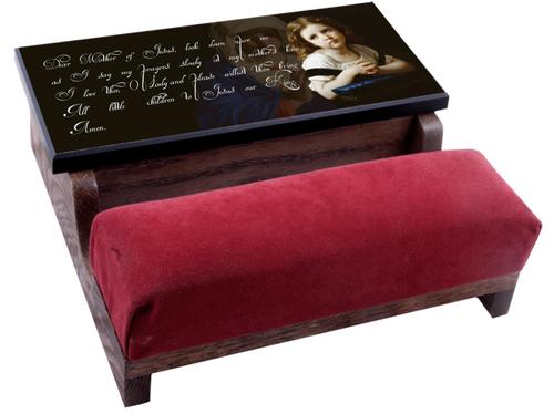 La Priere Marian Prayer Kid's Kneeler Box