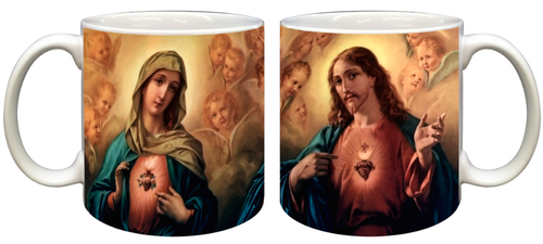 Sacred and Immaculate Hearts Mug