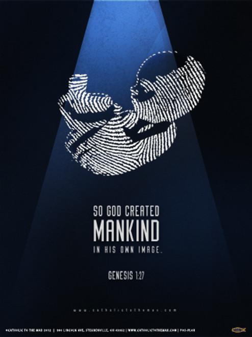 God's Thumbprint Poster