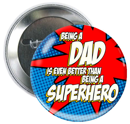 Superdad Button
