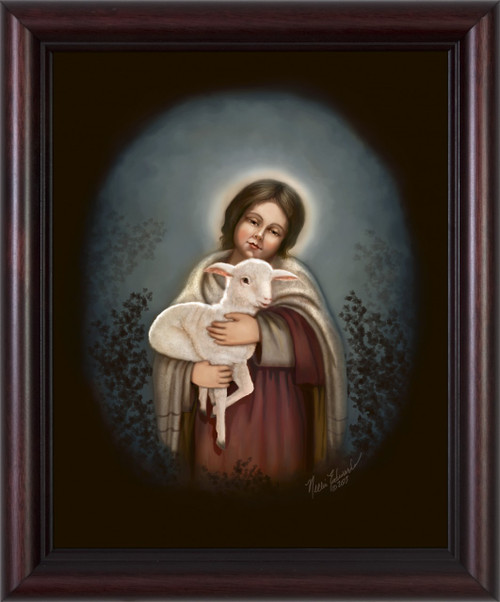 """Lamb of God"" by Nellie Edwards"