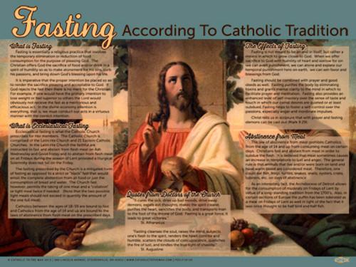 Fasting According to Catholic Tradition (Faith Explained) Poster