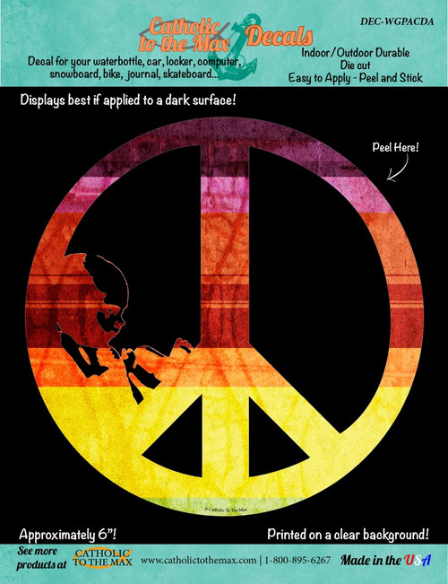Give Peace a Chance (Color) Decal