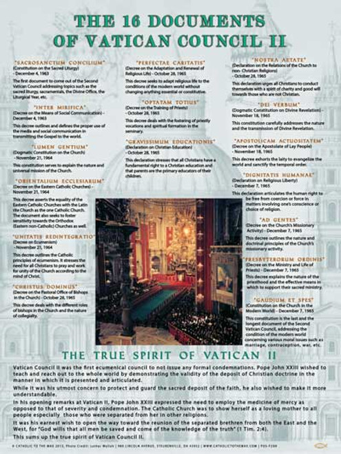 an analysis of four of the sixteen documents of vatican 11 council documents and the use of the foun Understanding 9/11 borrow the christ of vatican ii all in the words of the second vatican council join waitlist the documents of vatican ii jun 7, 2010 06/10 by vatican council (2nd : 1962-1965) abbott, walter m, ed.