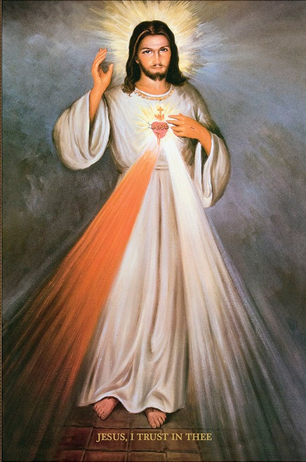 Sacred Heart - Divine Mercy print in assorted frames