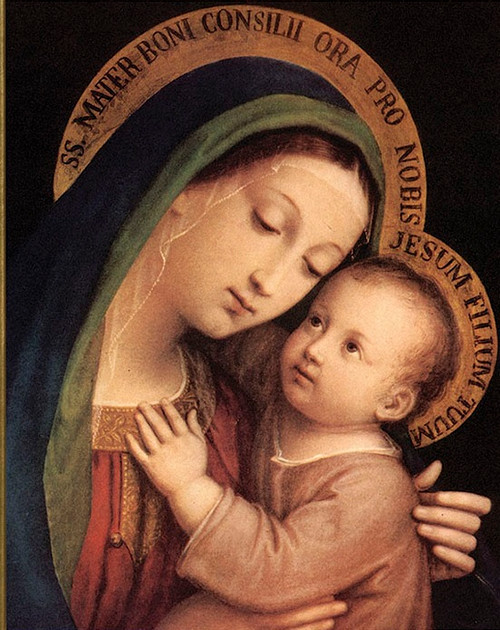 Our Lady of Good Counsel print in Assorted Frames