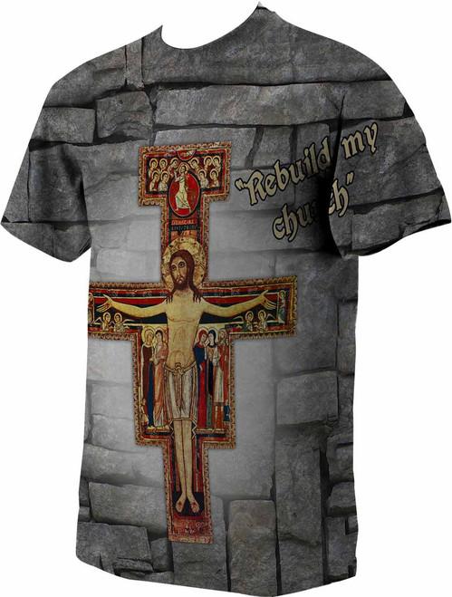 San Damiano Processional Cross Catholic To The Max
