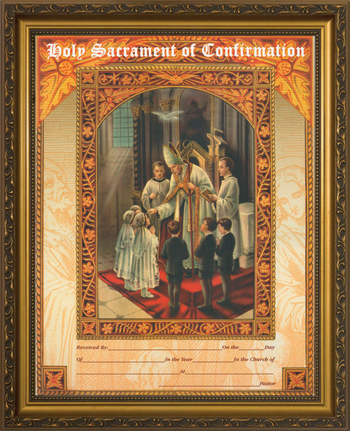 how to get catholic confirmation certificate
