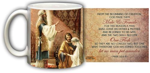 Wedding of Joseph & Mary Graphic Mug