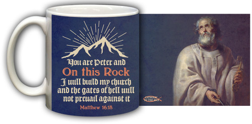 St. Peter Graphic Mug
