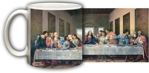 Last Supper by Da Vinci Restored Mug