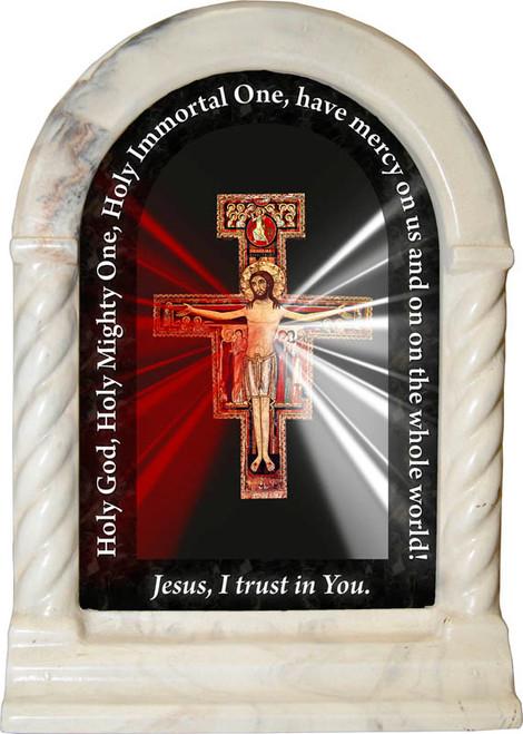 San Damiano Divine Mercy Prayer Desk Shrine Catholic To