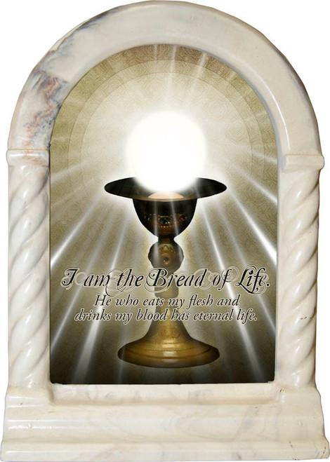 I Am the Bread of Life Desk Shrine