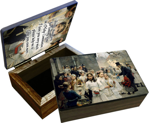 After the First Holy Communion Keepsake Box