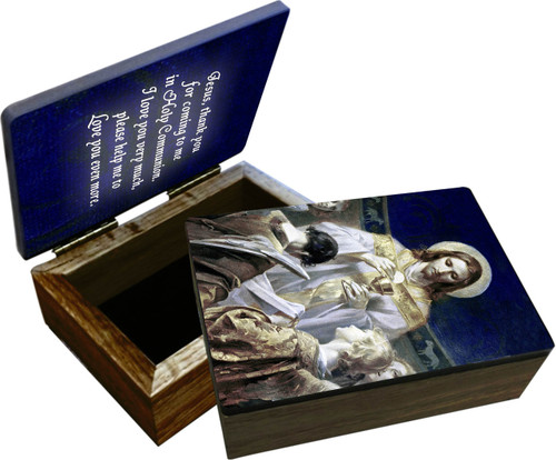 Christ, Bread of Angels Keepsake Box