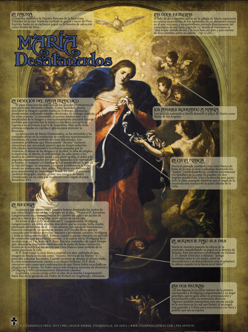 Spanish Mary Undoer of Knots Explained Poster