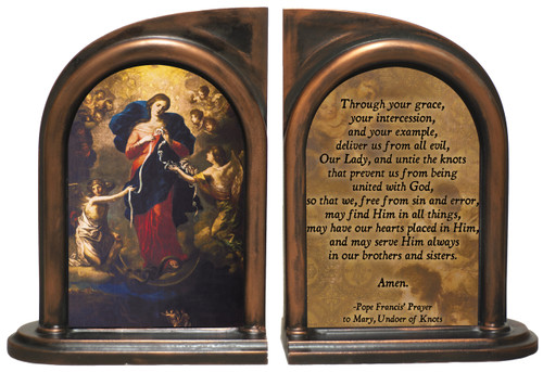 Mary Undoer of Knots Pope Francis' Prayer Bookends