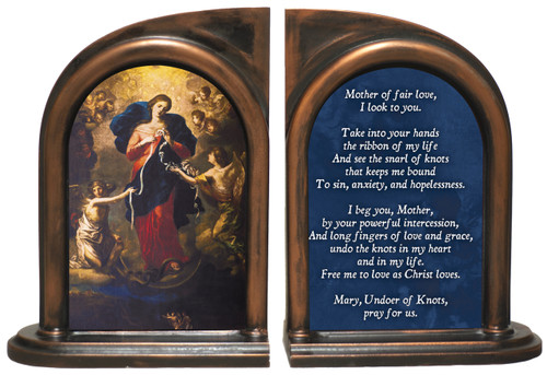 Mary Undoer of Knots - General Prayer Bookends