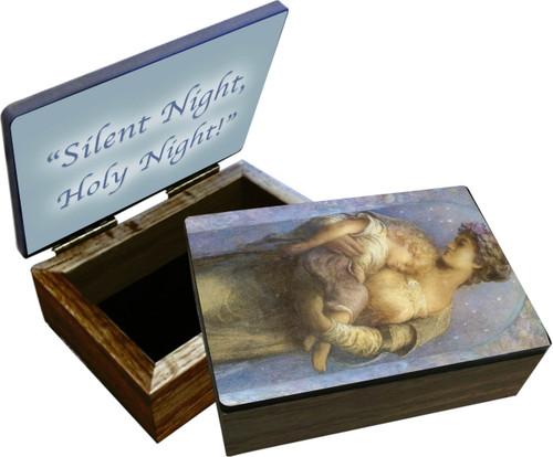"""Silent Night, Holy Night"" Keepsake Box"