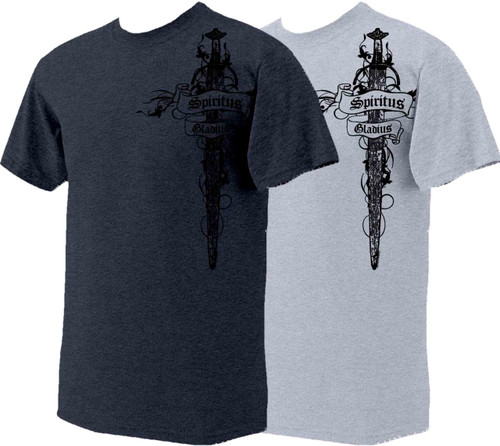 Crusader cross full color t shirt catholic to the max for Catholic t shirts wholesale