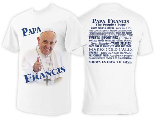 Papa Francis Color T-Shirt