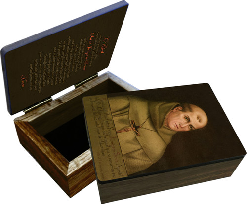 St. Junipero Serra Keepsake Box