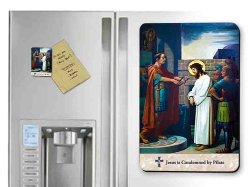 Emmerich Stations of the Cross Magnets (Set of 14)