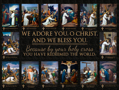 Emmerich Stations of the Cross Posters (Set of 14)