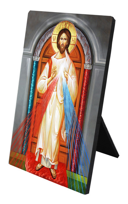 Divine Mercy Icon Desk Plaque