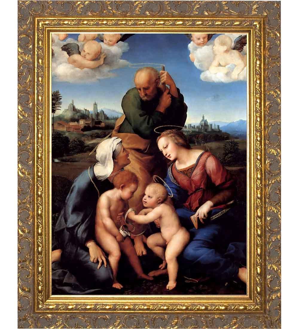 Catholic framed art prints catholic art catholic to the max holy family framed art jeuxipadfo Image collections