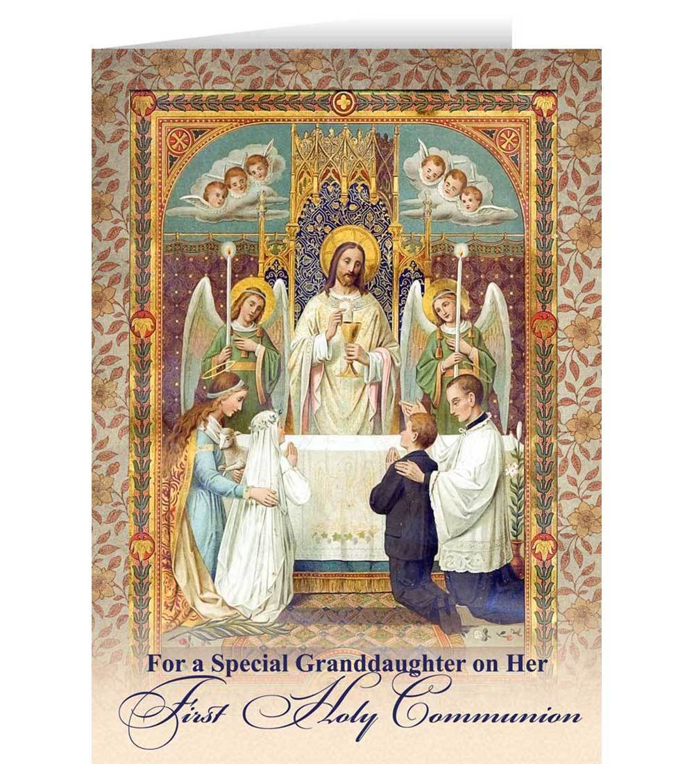 Sacrament greeting cards first communion greeting cards kristyandbryce Choice Image