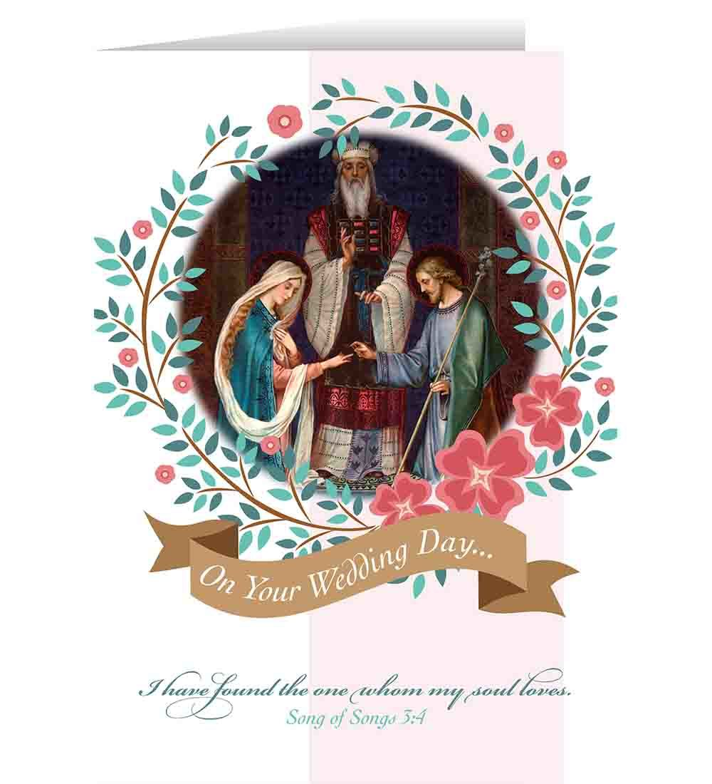 Catholic greeting cards catholic wedding greeting cards m4hsunfo