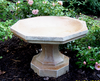 Small Octagon Birdbath