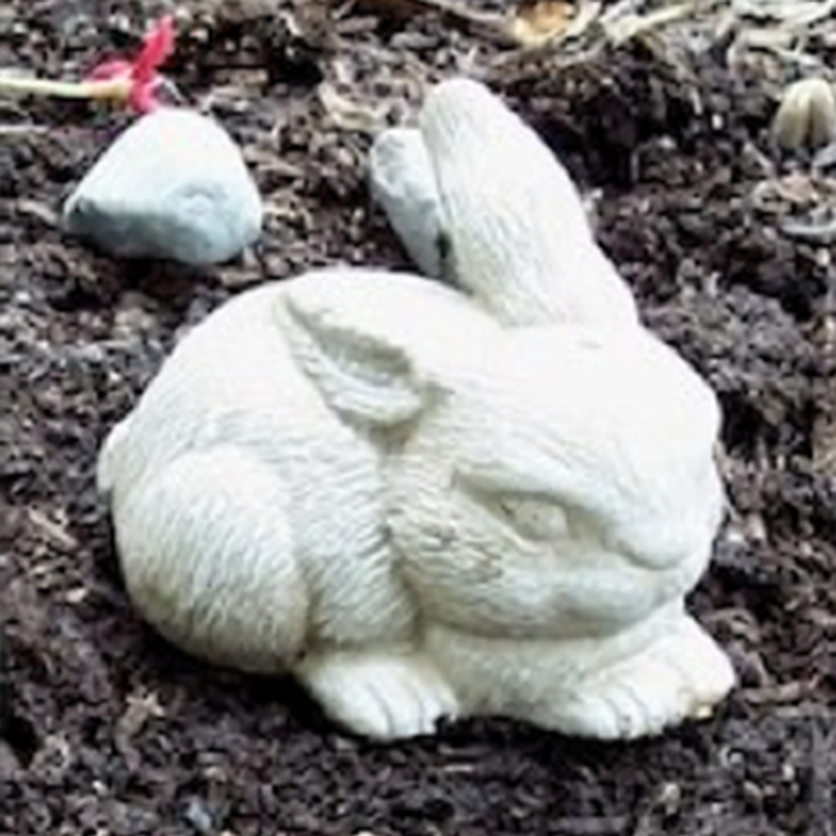 Small Laying Bunny