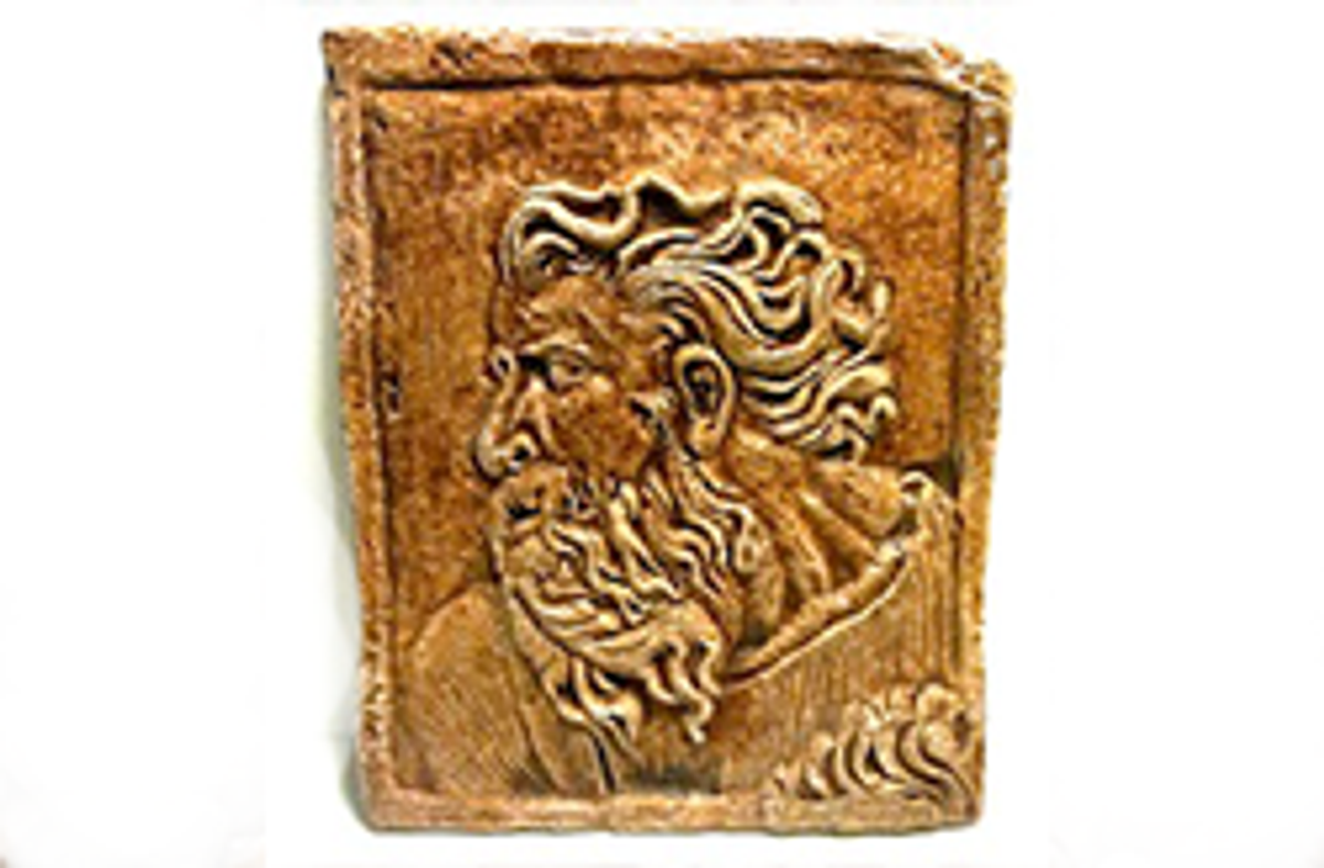 Moses Plaque