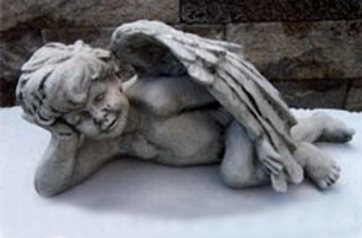 Laying Angel