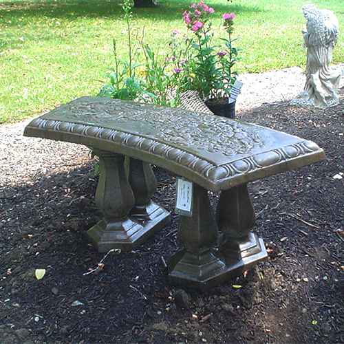 Curved Angel Bench
