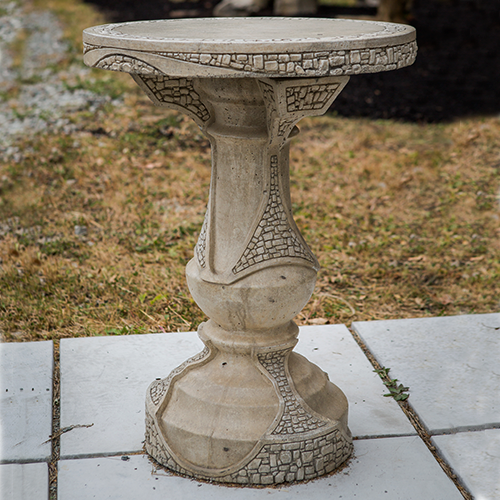 Stone Patio Table - 20""