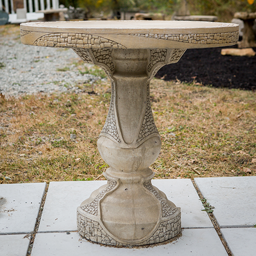 Stone Patio Table 27""