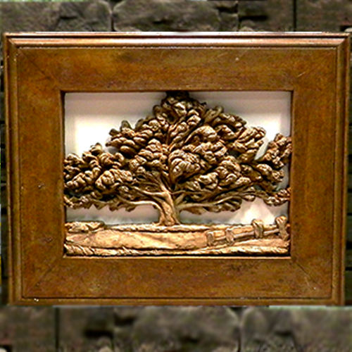 "Stone Picture ""Tree of Life"""