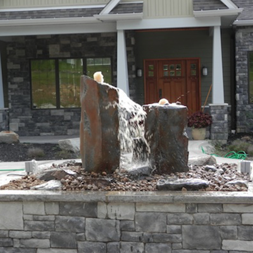 Basalt Fountain